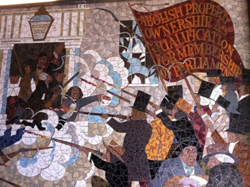 The chartists attack the Westgate Hotel