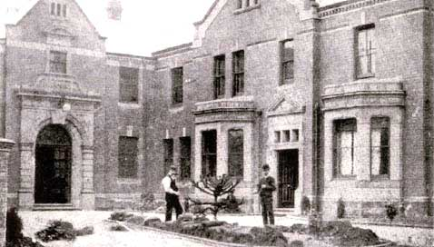 The workhouse entrance, 1900s