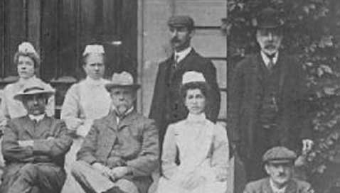 Workhouse staff, early 20th century